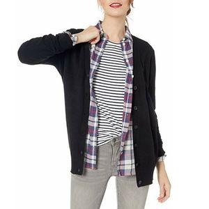J. Crew Mercantile Wool Blend Buttoned Cardigan